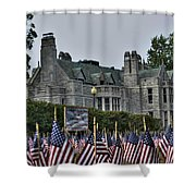 08 Flags For Fallen Soldiers Of Sep 11 Shower Curtain