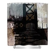 083 Manhattan Bridge Shower Curtain