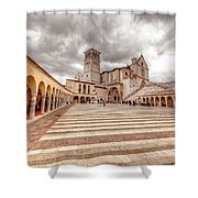 0954 Assisi Italy Shower Curtain