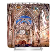 0957 Basilica Of Saint Francis Of Assisi Shower Curtain