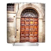 0959 Assisi Italy Shower Curtain