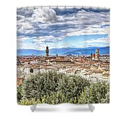 0960 Florence Italy Shower Curtain