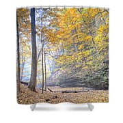 0983 Starved Rock Colors Shower Curtain
