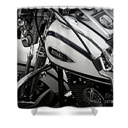 1 - Harley Davidson Series  Shower Curtain by Lainie Wrightson