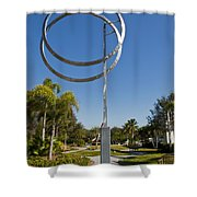 The Vero Beach Museum Of Art In East Central Florida Shower Curtain