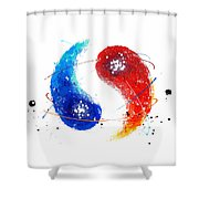 091011aa Shower Curtain