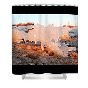 1-1-18--5783 Don't Drop The Crystal Ball Shower Curtain