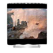 1-1-18--5786 Don't Drop The Crystal Ball Shower Curtain