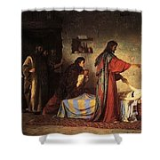 1 1871 Vasily Polenov Shower Curtain