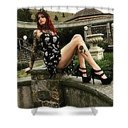 1 - 120 Shower Curtain