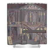 14th Street Theatre Shower Curtain