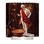 16488 Nicanor Pinole Shower Curtain