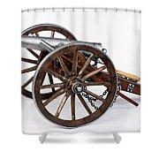 1861 Dahlgren Cannon Shower Curtain