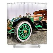 1914 Renault Type Ef Victoria Shower Curtain