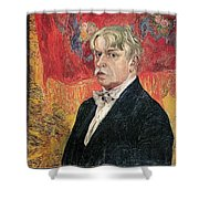 1919 Alexander Golovin Shower Curtain
