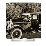 1924 Buick Duchess Antique Vintage Photograph Fine Art Prints 10 Shower Curtain