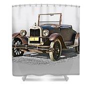 1925 Chevrolet Series K Roadster Shower Curtain