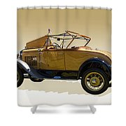 1930 Model A Ford Convertible Shower Curtain