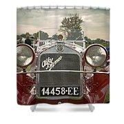 1931 Alfa Romeo Shower Curtain