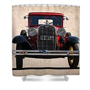 1931 Ford Model A  Shower Curtain