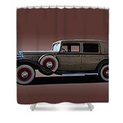 1932 Classic Buick 4 Door Sedan Shower Curtain