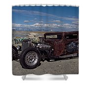 1932 Chevrolet Rat Rod Shower Curtain