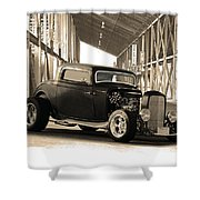 1932 Ford Lil' Deuce Coupe Shower Curtain