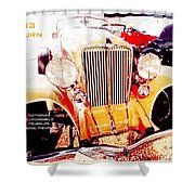1933 Auburn Classic Automobile Shower Curtain