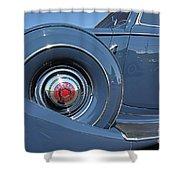 1937 Packard Automobile Shower Curtain