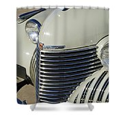 1940 Cadillac 60 Special Sedan Grille Shower Curtain