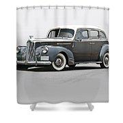 1941 Packard 120 Sedan I Shower Curtain