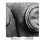 1946 Ford F-6 Shower Curtain