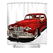 1946 Lincoln Continental Mk I Shower Curtain