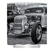 1948 Mercury Pickup Hot Rod Shower Curtain