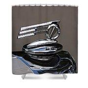 1952 Triumph Renown Limosine Radiator Cap Shower Curtain