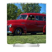 1953 Chevrolet Suburban Shower Curtain