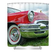 1955 Buick Rodmaster Shower Curtain