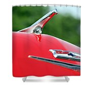 1956 Chevrolet Bel Air Shower Curtain