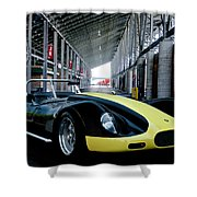 1956 Lister Cambridge Roadster Shower Curtain