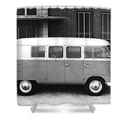 1960 Volkswagon Microbus Shower Curtain