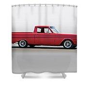 1965 Ford Ranchero Shower Curtain