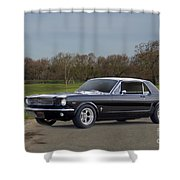 1966 Ford Mustang Coupe I Shower Curtain