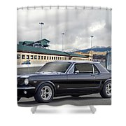 1966 Ford Mustang Coupe II Shower Curtain