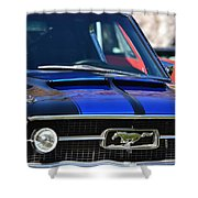 1967 Mustang Fastback Shower Curtain