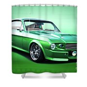 1968 Ford Mustang Fastback I Shower Curtain