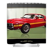 1969 Shelby V8 Gt350  Shower Curtain