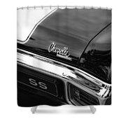 1970 Chevrolet Chevelle Ss 396 Shower Curtain