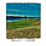 #2 At Chambers Bay Golf Course Shower Curtain