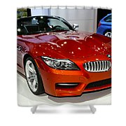 2014 Bmw Z4 Roadster Sdrive35is Shower Curtain