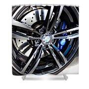 2015 Bmw M4 Shower Curtain by Aaron Berg